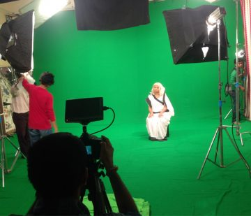 chroma film shooting